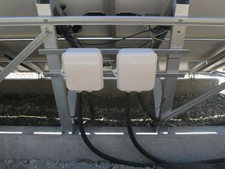 接続箱の配線
